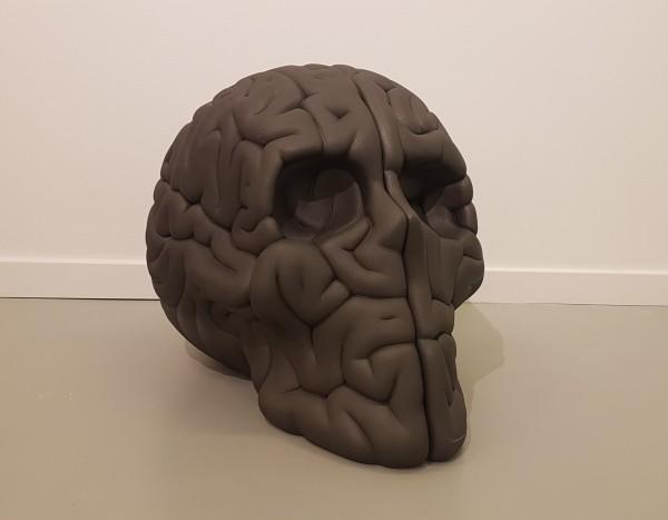 """EMILIO GARCÍA """"Skull brain Graphite XL"""""""