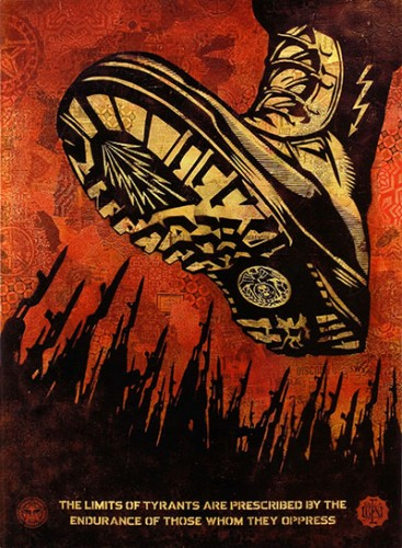 3 Punts Shepard Fairey